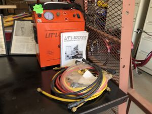 Freon removal equipment tool tanks are included for Sale in Uniontown, OH