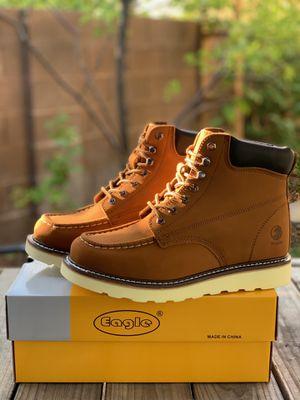 Men work boots $55 for Sale in Las Vegas, NV