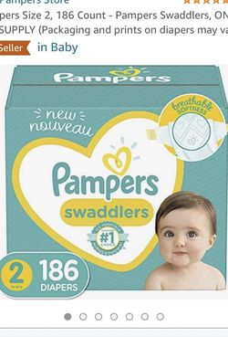 Brand New box Pampers Size 2 Diapers for Sale in San Jose,  CA