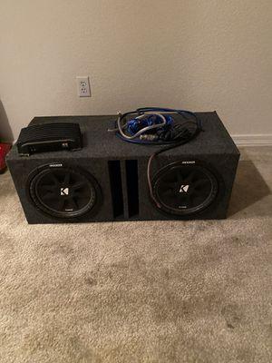 Full car stereo set up, full system set up for Sale in Phoenix, AZ