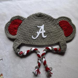 Crochet Alabama Roll Tide hats for Sale in Atlanta, GA