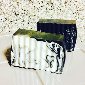Organic Charcoal and Shea butter soap fragrance eucalyptus $3.99 each for Sale in Atlantic Highlands, NJ