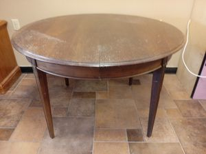 Solid wood dining table for Sale in St. Peters, MO