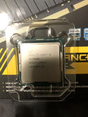 New 9900k i9 for Sale in Chino, CA