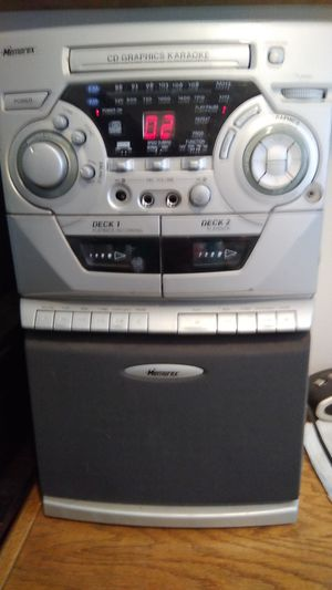 Memorex Karaoke with microphone for Sale in Oretech, OR