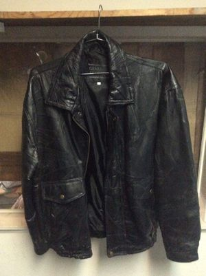 Fashion leather motorcycle jacket size XL for Sale in Fullerton, CA