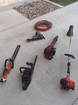 Lawn equipment and nail gun for Sale in Pflugerville, TX