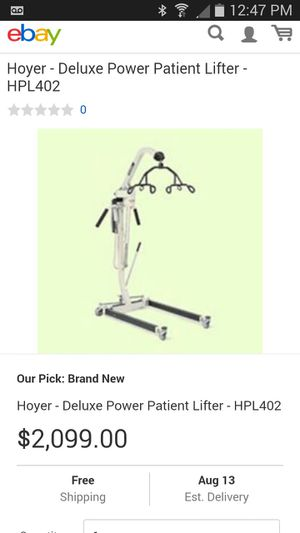 Heyer lift hpl 402 new for Sale in Miami, FL