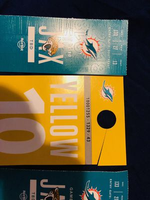 Miami Tix Section 133 for Sale in West Palm Beach, FL
