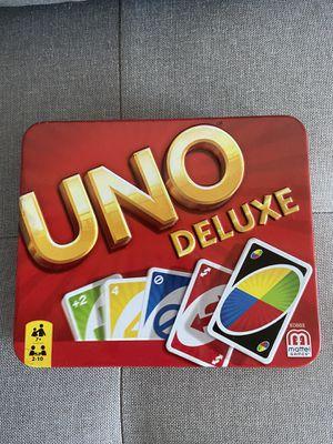 Uno deluxe edition game for Sale in Irvine, CA