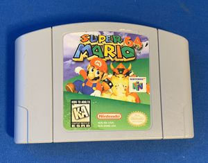 Authentic Super Mario 64 Nintendo 64 N64 Tested Works Great Cartridge Only. for Sale in Tamarac, FL