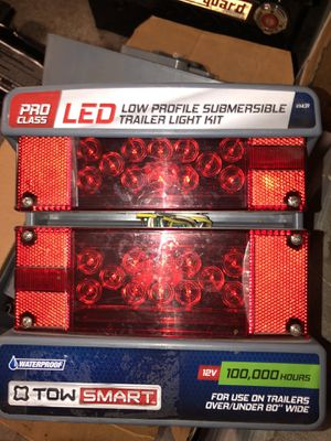 "TRAILER LIGHT KIT 12V OVER/UNDER 80""WIDE for Sale in Irving, TX"