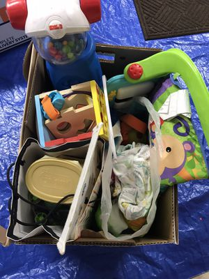 Free. Baby stuff, baby food, toys, mattress for crib. for Sale in Kirkland, WA
