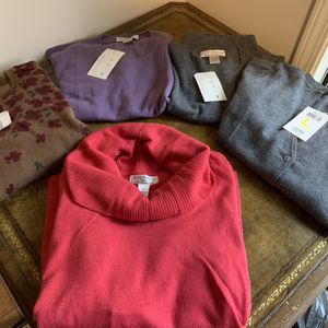 NWT Cashmere tops and sweaters for Sale in Highland Park, IL