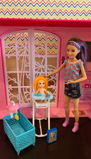 Barbie Skipper Babysitter Inc. Doll and Playset for Sale in DEVORE HGHTS, CA