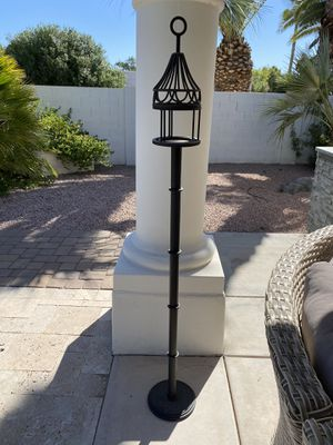 Iron candle holder / candle stand / decor for Sale in Scottsdale, AZ