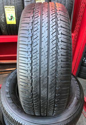 245-60-18 Bridgestone Dueler for Sale in Whittier, CA