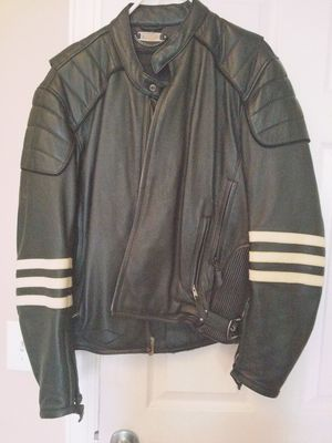 Motorcycle leather jacket for Sale in Hendersonville, TN