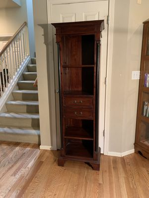 Tall Skinny Imported Bookcase Bookshelf Shelf for Sale in Redmond, WA