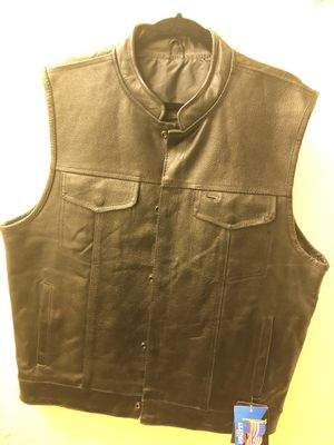 Leather vest for Sale in Los Angeles, CA