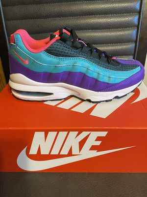 Brand new Nike airmax 95 size 6Y with box for Sale in San Antonio, TX