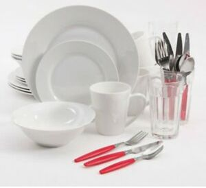 Gibson Home Regal White Dinnerware Combo Set for Sale in Glendale, AZ