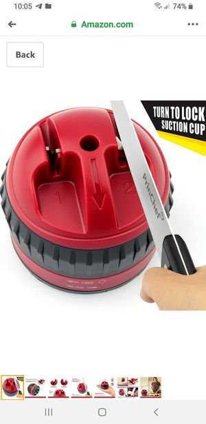 Safe Knife sharpener with suction cup for Sale in Newark, CA