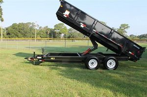 2014 Dump trailer Big tex for Sale in Boston, MA