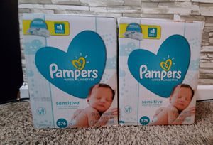 2 box Pampers Wipes for Sale in Blaine, MN