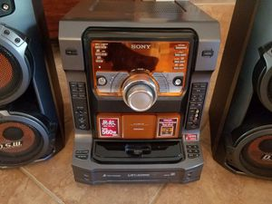 Sony LBT-ZX66i Mini Shelf Stereo Audio System for Sale in Phoenix, AZ