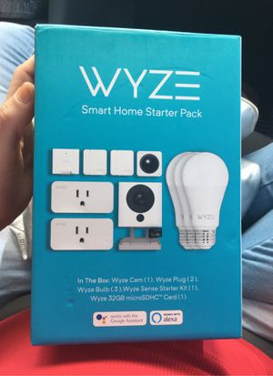Wyze home starter kit for Sale in Bartow, FL