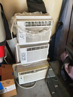 3 window Ac units. 80.00 per unit. for Sale in Denver, CO