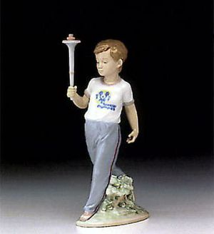 LLADRO 'Courage' Special Olympics Figurine 1993 for Sale in Irvine, CA