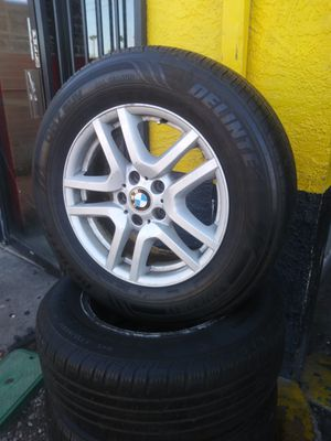 17 original bmw wheels 2255517 tires for Sale in Phoenix, AZ