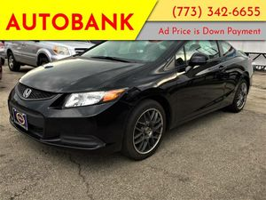 2012 Honda Civic Cpe for Sale in Chicago, IL