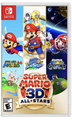 Super Mario 3D All-Stars - Nintendo Switch for Sale in Highland, CA