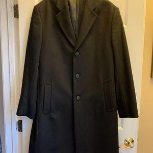 Men's Michael Kors Wool Top Coat Overcoat 46L for Sale in Monroe Township, NJ