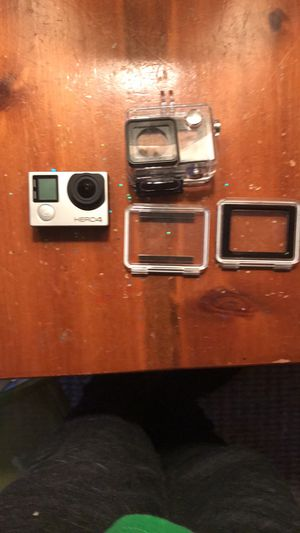 Go pro hero 4 and accessories for Sale in Clementon, NJ