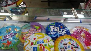 Helium balloons. Happy birthday( in Spanish) for Sale in Nashville, TN