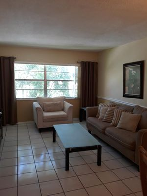 Couch and arm chair for Sale in Davie, FL