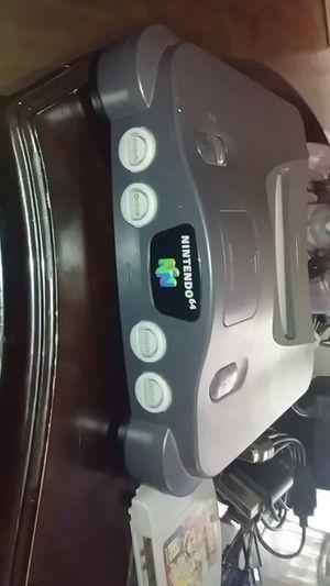 Nintendo 64 w/ super smash bros. And 1 controller for Sale in Old Town Manassas, VA