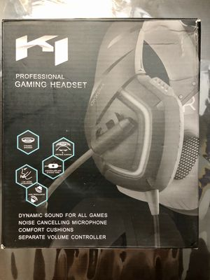 ONIKUMA PS4 Headset -Xbox One Headset for Sale in Los Angeles, CA