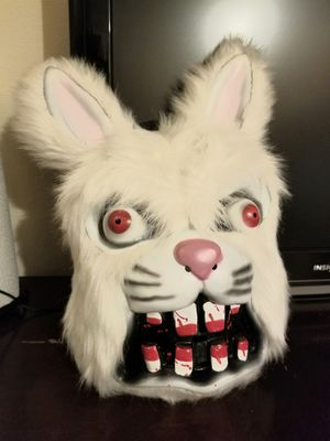 Mask Halloween Bunny $5 for Sale in Willow Springs, IL