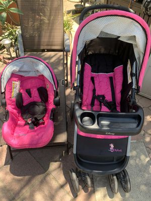 """Stroller and Car Seat. """" Mini Mouse """" for Sale in Garden Grove, CA"""