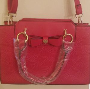 Betsey Johnson Red Bag for Sale in The Bronx, NY