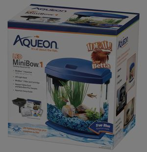 Like New Betta Fish Bowl set for Sale in San Diego, CA