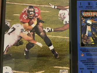 Mike Alstott Super Bowl Photo And Ticket for Sale in Orlando,  FL
