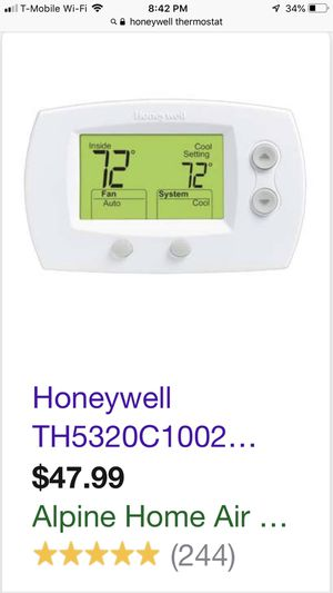 Honey Well thermostats for Sale in Chicago, IL
