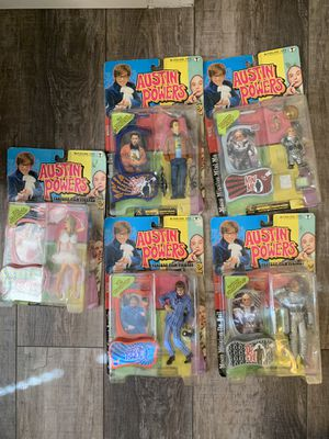 Austin Powers Action figures for Sale in Tampa, FL
