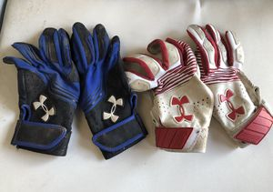 Under Armour Baseball/ Softball a Batting gloves for Sale in Los Angeles, CA